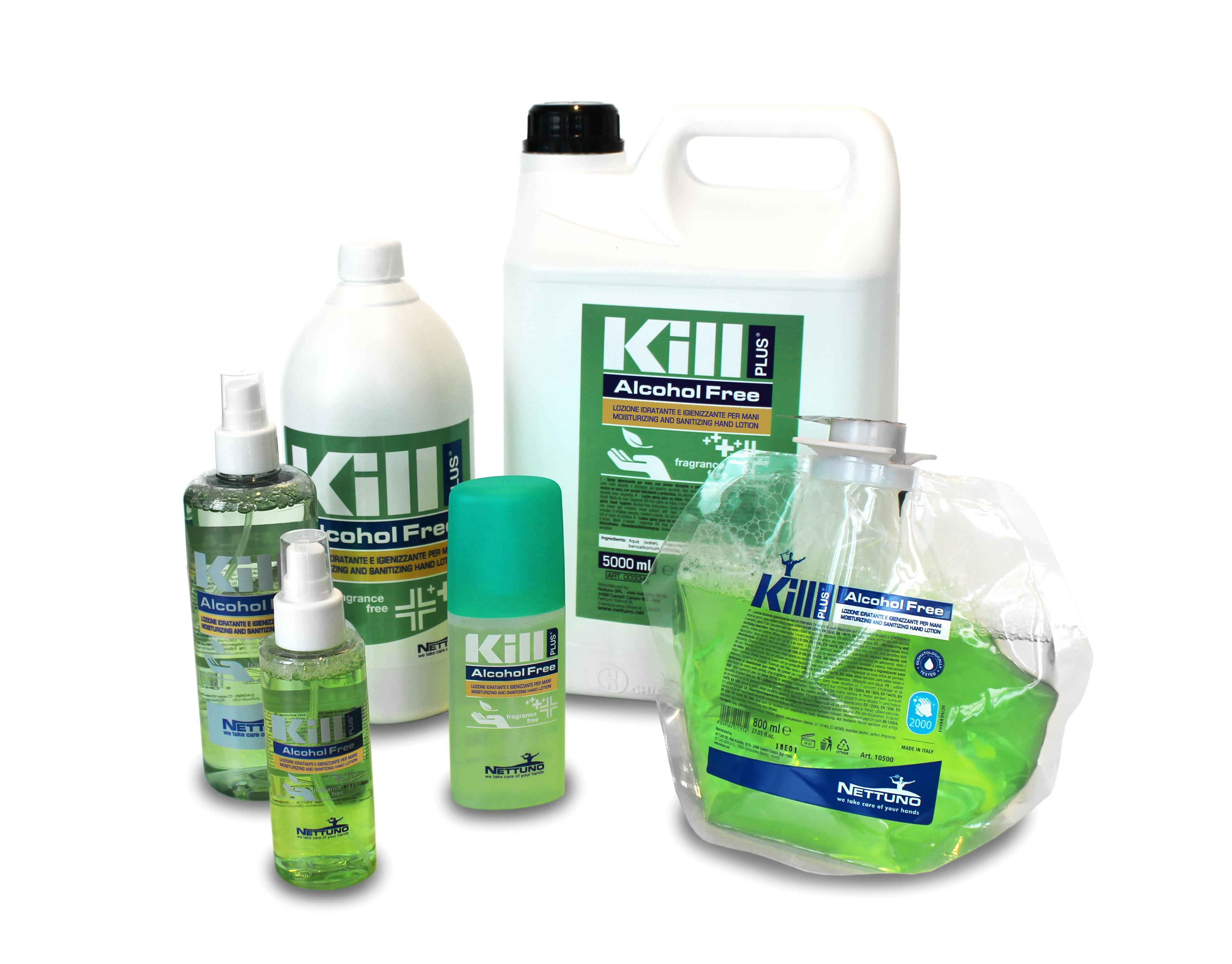 produttore gel igienizzante mani